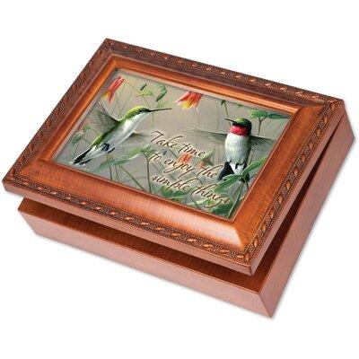 Traditional Hummingbirds Music Box