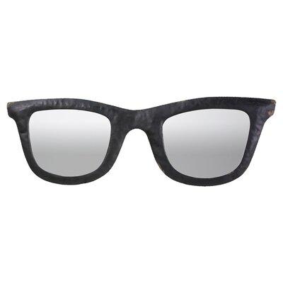 Metal Sunglasses Wall Mirror
