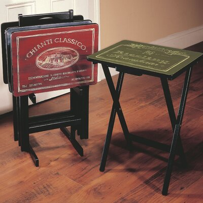 tv trays snack trays folding tray tables. Black Bedroom Furniture Sets. Home Design Ideas