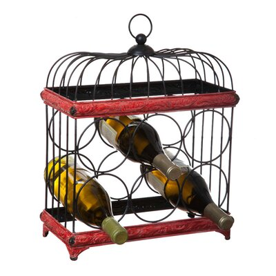 Bird Cage 6 Bottle Tabletop Wine Rack