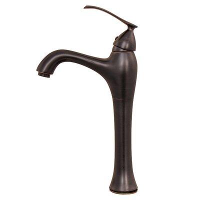 Single Handle Vessel Faucet Finish: Oil Rubbed Bronze Finish
