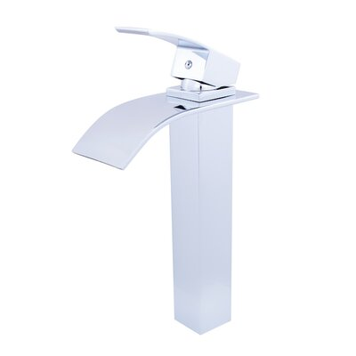 Waterfall Vessel Faucet Finish: Chrome