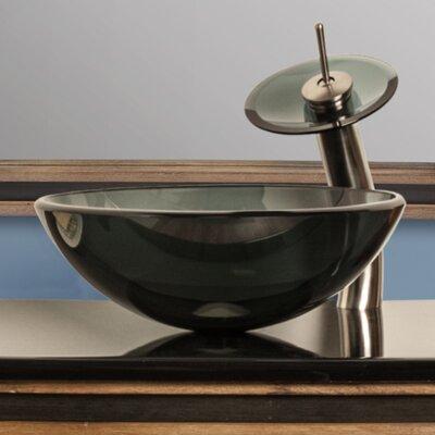 Nera Glass Circular Vessel Bathroom Sink