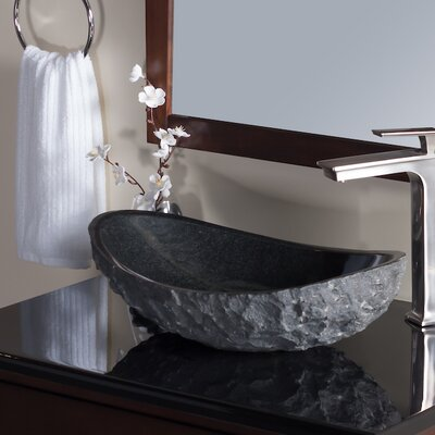 Absolute Stone Oval Vessel Bathroom Sink