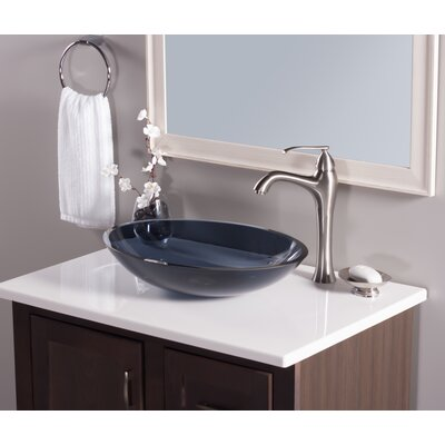 Scempio Oval Vessel Bathroom Sink