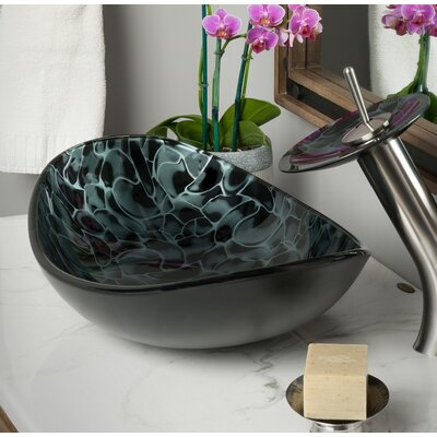 Tartaruga Oval Vessel Bathroom Sink