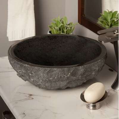 Absolute Stone Circular Vessel Bathroom Sink