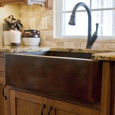 33 x 22 Single Farmhouse Kitchen Sink