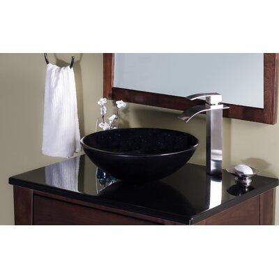 Galassia Glass Circular Vessel Bathroom Sink