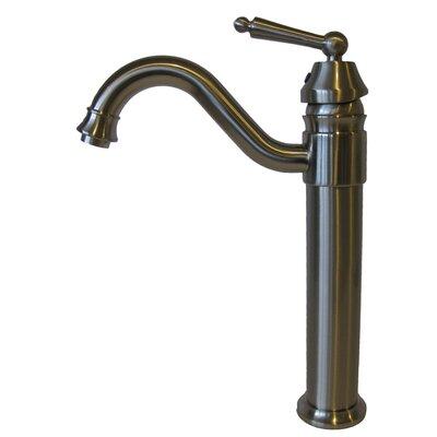 Single Handle Vessel Faucet Finish: Brushed Nickel