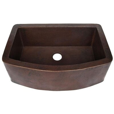 33 x 22 Redondeado Curved Kitchen Sink