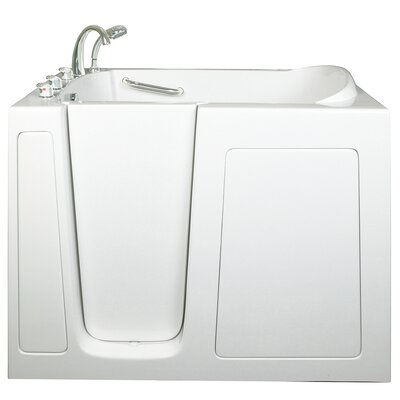 Low Threshold Hydrotherapy Whirlpool Walk-In Tub Drain Location: Left