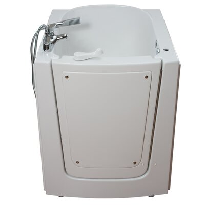 Front Entry Air Massage Whirlpool Walk-In Tub Drain Location: Right