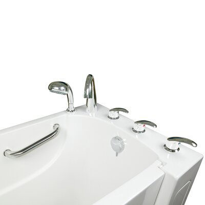 Narrow Wide Whirlpool Walk-In Tub Drain Location: Right