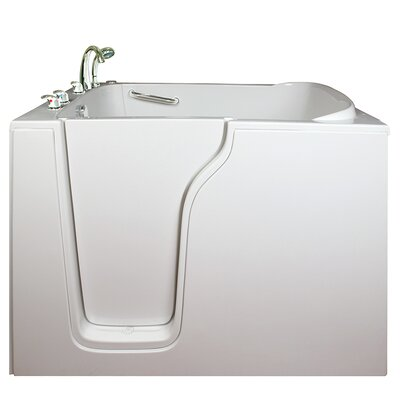 Bariatric Seat Whirlpool Walk-In Tub Drain Location: Right