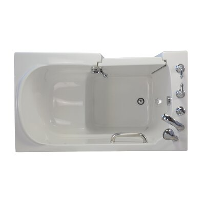 Economy Soaking Walk-In Tub Drain Location: Left