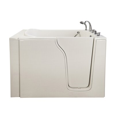 Bariatric 33 54.25 x 40 Whirlpool Walk In Tub Drain Location: Right Hand