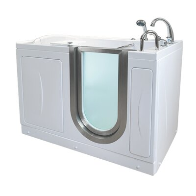 Royal 52.25 x 29.75 Walk-In Bathtub Drain Location: Right