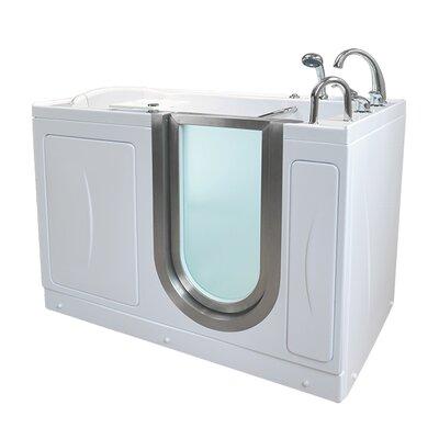 Petite 52.25 x 29.75 Walk-In Bathtub Drain Location: Right