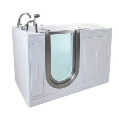 Royal 52.25 x 29.75 Walk-In Bathtub Drain Location: Left