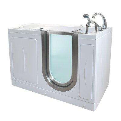 Royal 52.25 x 29.75 Walk-In Bathtub Drain Location: Right