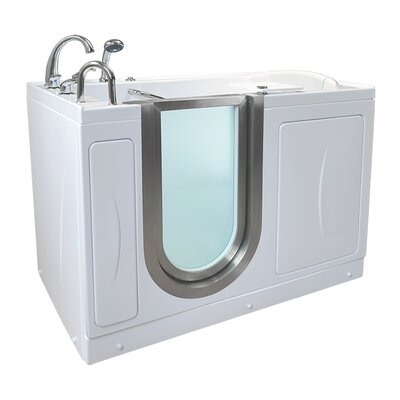 Royal 52.25 x 29.75 Walk-In Bathtub Drain Location: Left