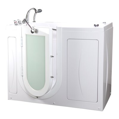 Malibu 29.5x52 Walk In Massage Bathtub Drain Location: Right