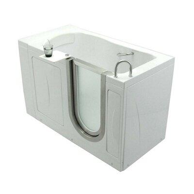 Elite 52 x 30 Soaking Walk In Tub Door and Drain Location: Right