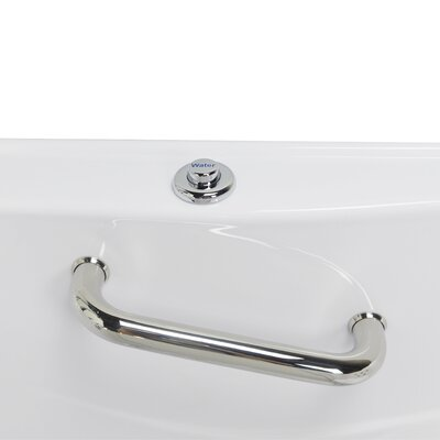 Monaco Hydro Massage 52 x 32 Walk in Whirlpool Bathtub with Thermo Faucet Set