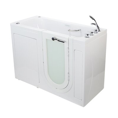Lounger 59 x 26.75 Walk-In Whirlpool and Air Tub Drain Location: Right