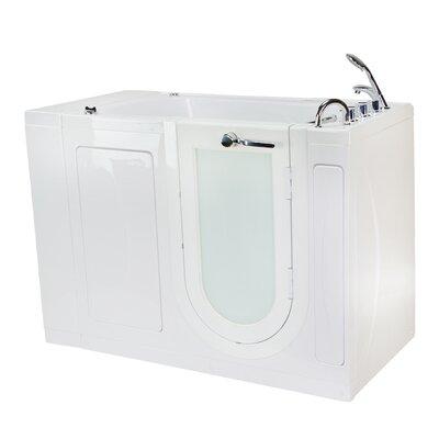 Malibu Air and Hydro Massage 30 x 52 Walk in Air/Whirlpool Bathtub Drain Location: Right