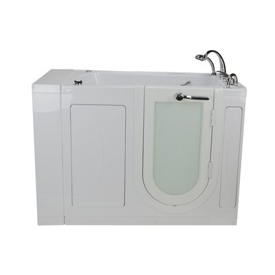 Malibu Air and Hydro Massage 30 x 52 Walk in Air/Whirlpool Bathtub Drain Location: Right