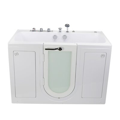Tub4Two Hydro Massage 31.75 x 60 Walk-in Whirlpool