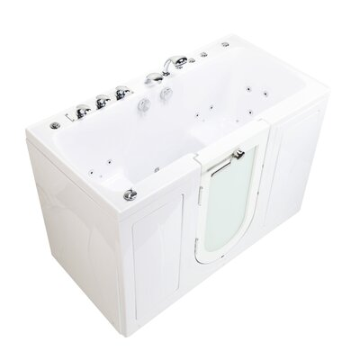 Tub4Two Hydro Air and MicroBubble Massage 31.75 x 60 Walk-in Whirlpool