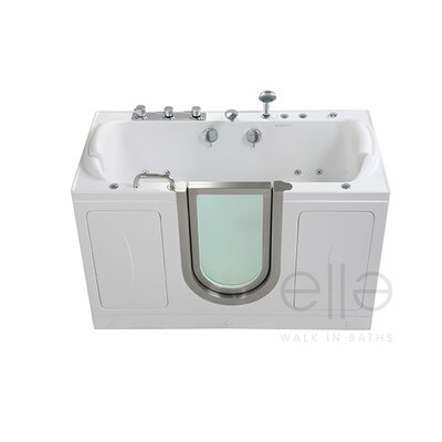 Companion 60 x 30 Massage Whirlpool Walk In Tub