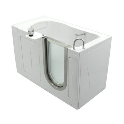 52 x 32 Royal Soaking Walk In Tub Door and Drain Location: Left