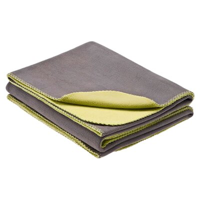 Premier Comfort Reversible Micro Fleece Polyester Blanket - Size: Full / Queen, Color: Gray / Palm at Sears.com
