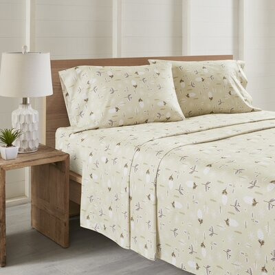 Daria Leaves All Seasons Sheet Set Size: Twin XL