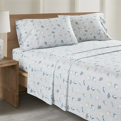 Daria Penguins All Seasons Sheet Set Size: Cal King