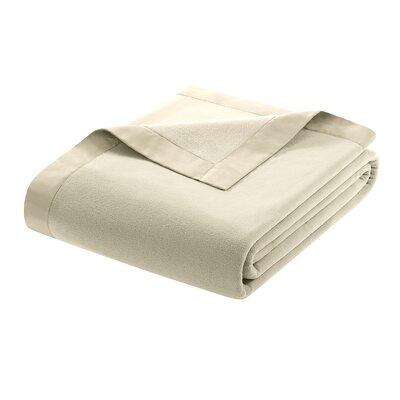 Premier Comfort Micro Fleece Blanket - Size: Twin, Color: Natural