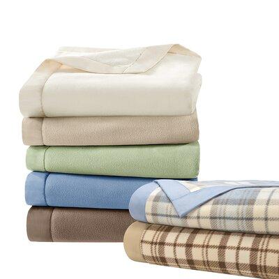 4 Piece Micro Fleece Sheet Set Size: Twin, Color: Mink SHET20-530
