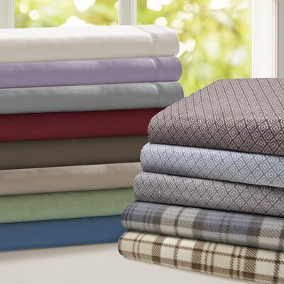 Butlerville 4 Piece Micro Fleece Sheet Set