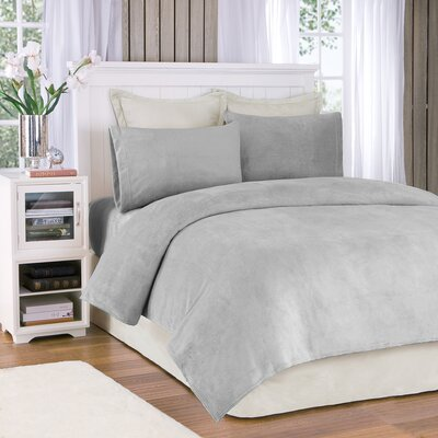 Dunmore Sheet Set Size: Twin, Color: Gray