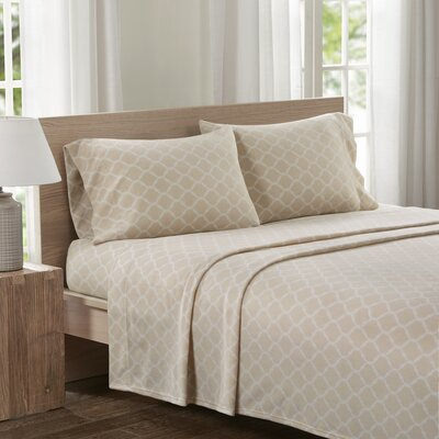 Saturn Sheet Set Size: Queen, Color: Tan