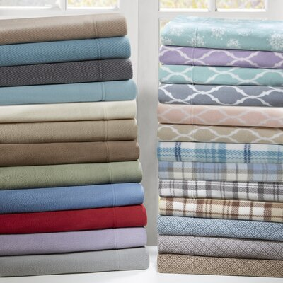 Prestwood Ultra Soft Micro Fleece Sheet Set Size: Twin