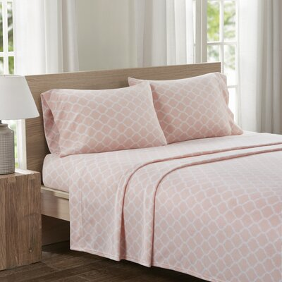 Saturn Sheet Set Size: Queen, Color: Blush