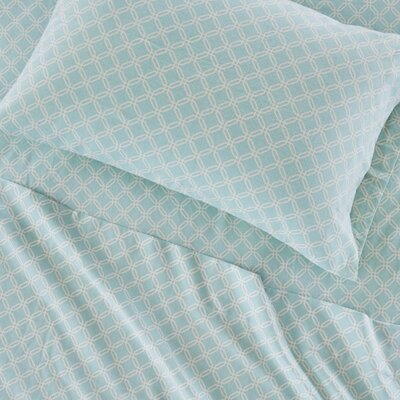 Hardcastle Cozy Printed 100% Cotton Sheet Set Size: Full