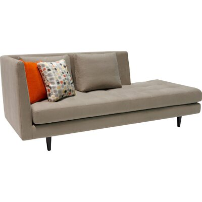 Jordan Chaise Lounge Sofa Upholstery: Octave Swift