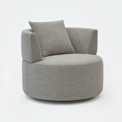 Olivia Swivel Barrel Chair