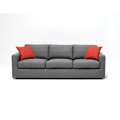 Edward Sofa Upholstery: Oxford Almond
